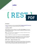 Um resumo sobre REST