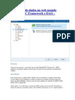 Manipulando dados na web usando Delphi MVC Framework e DAO