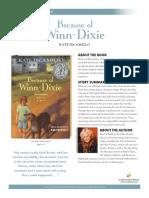 Because of Winn Dixie Teachers' Guide