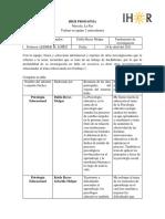 INFORME DE LA PSICOLOGIA EDU.