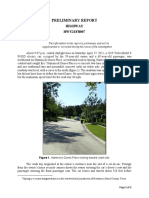 HWY21FH007 Preliminary Report