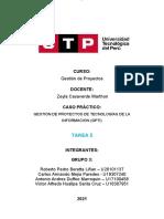 Tarea 5    Caso Practico Gestion De Proyectos       GRUPO 3