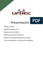 PRACTICA DE EDUCACION AMBIIENTAL