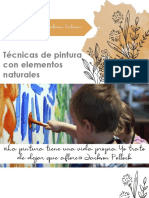 SEMINARIO de pintura con elementos naturales pptx