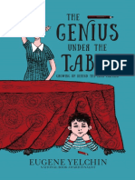 The Genius Under the Table by Eugene Yelchin Press Kit