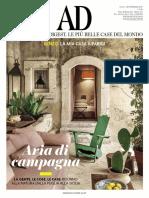 AD Architectural Digest Italia  Settembre 2017