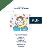 Cuadernillo Matematicas3 Semana30!10!14 May CYNTHIA