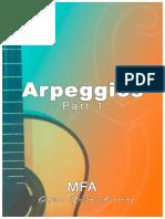 Arpeggio Exercises (Part 1) by Merce Font (MFA Academy)