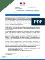 numérique cameroun