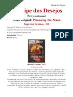 KAZANOV 4 - 022 - Patricia Grasso [Saga Dos Kazanov 04] - Pr+¡Ncipe Dos Desejos (Sabrina Sensual 22)