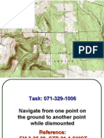 DISMOUNTED MAP READING CLASS-New