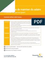 Trousse du participant - pdf fillable
