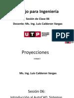 Introduccion a AutoCAD - Proyecciones