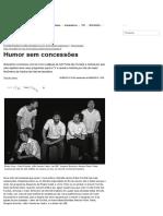 Aula 17 - Humor sem concessões - Brasileiros
