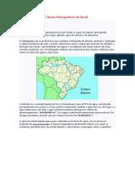 Recursos hídricos e Bacias hidrográficas do Brasil