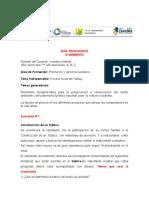 Guía Pedagógica III Moento 1er Año 2020-2021