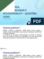 Projeto Questões Cespe - dia 16 Governança e QVT