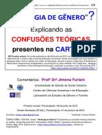 FURLANI, Jimena. _Ideologia de Gênero__ Explicando as confusões teóricas presentes na cartilha
