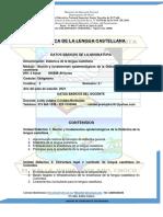 MODULO DE  DIDACTICA DEL LENGUAJE  I