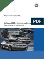 SSP 545 La Passat 2015 – Équipement électrique