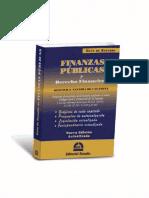Guia de Estudio. Finanzas Publicas y Derecho Financiero. 2019. Gustavo Naveira de Casanova
