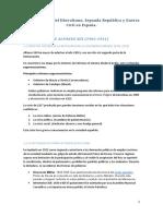 Tema 9. CRISIS DEL LIBERALISMO. SEGUNDA REPÚBLICA Y GUERRA CIVIL EN ESPAÑA