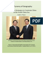 Thayer Vietnamese Strategies to Constrain China in the South China Sea