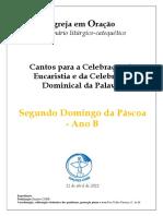 Caderno_2° Domingo da Páscoa_B