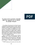 Simone Weil - À propos de la question coloniale