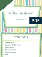 PHYSICAL ASSESSMENT ppt