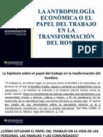 El papel del trabajo en la transformación del hombre (1)