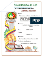 INVENTARIOS, PROPIEDAD, PLANTA Y EQUIPO, CUENTAS POR PAGAR Y OTROS PASIVOS (REPORTE Nro. 5)