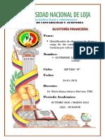 Abono y Cargo de las cuentas Caja, Bancos y Cuentas por cobrar (REPORTE 3)