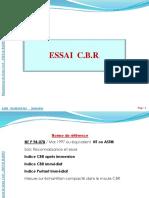 Essai CBR