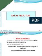 Essai Proctor