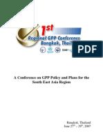 GPP policy asia tenggara