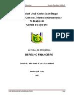 Material de enseñanza Derecho Financiero semana 4