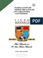 FOLLETO MISA MATOVELLE VIVE 2020 2