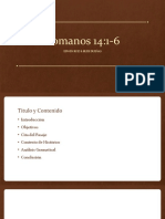 Romanos 14 .1-6