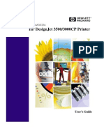 HP Designjet 3500/3000CP User Manual