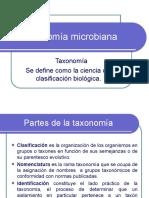 Taxonomía microbiana