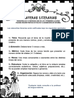 calaveritas folleto