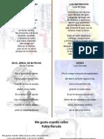 Ejemplos de Poesía