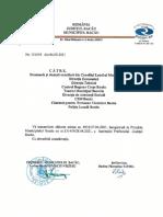 Actiune prefect contencios bugetul municipiului Bacau
