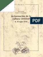 La Formación de La Cultura Virreinal, Vol. II El Siglo XVII by Karl Kohut Sonia v. Rose (Eds.) (Z-lib.org)