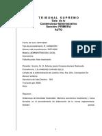 Auto Inadmisión Madrid Central Recurso Ecologistas en Acción