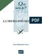 La neuro-psychanalyse - Jean-Benjamin Stora