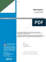 FD P18-011 - 2009