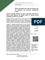 Limites geográficos da pluma de odor da Estação de Tratamento de Esgotos de Curado, Recife-PE, Nordeste do Brasil