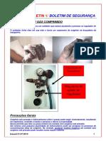 Acidente - Cilindro de Oxigenio - Odebrecht